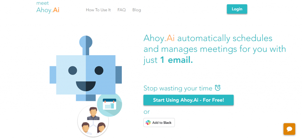 Ahoy AI sales automation software