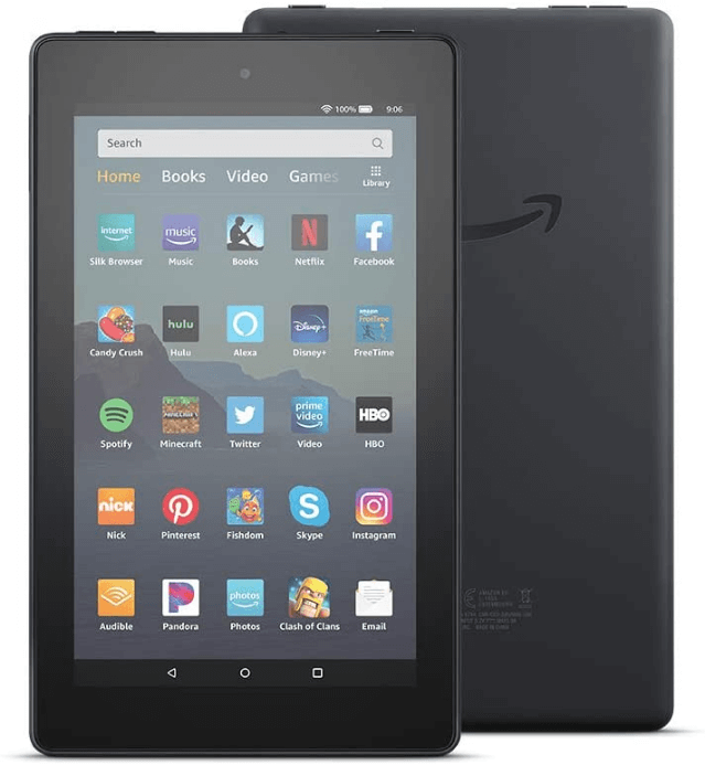 Amazon Fire 7- Best Gaming Tablet Under $50