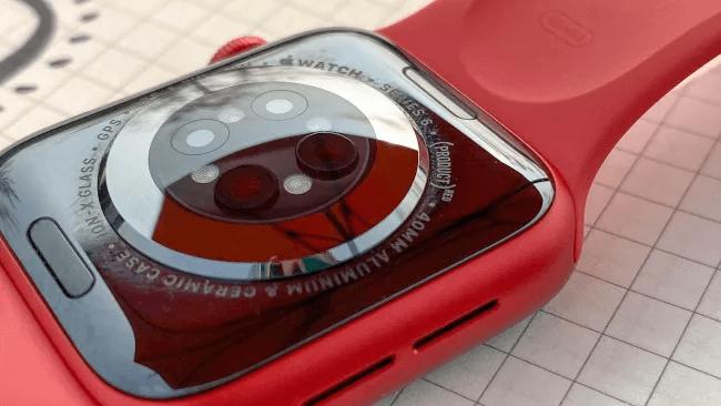 Apple watch sensors to Blood oxygen monitoring