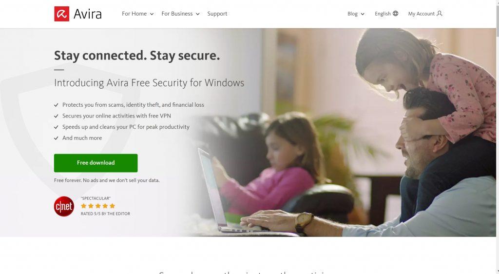 Avira Antivirus security software
