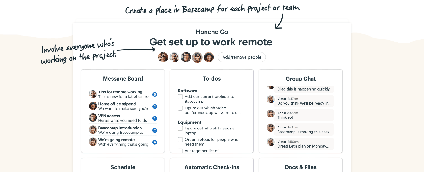 Basecamp- One of the Free yet Best Monday Alternatives