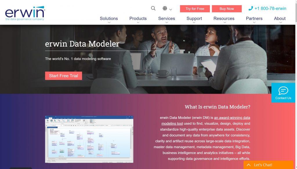 Best Model tools for database- Erwin modeler