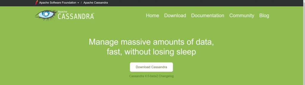 Cassandra big data analytics software