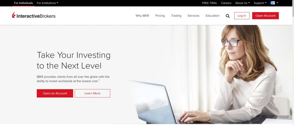 Forex trading platform- Interactive brokers