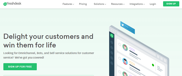 Freshdesk-Best Zendesk Alternatives