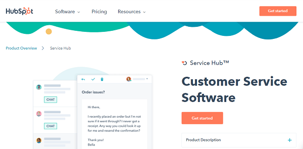 HubSpot-Service-Alternative to Zendesk