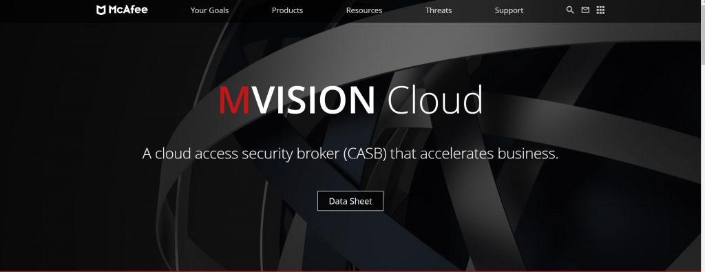 McAfee MVision Cloud antivirus