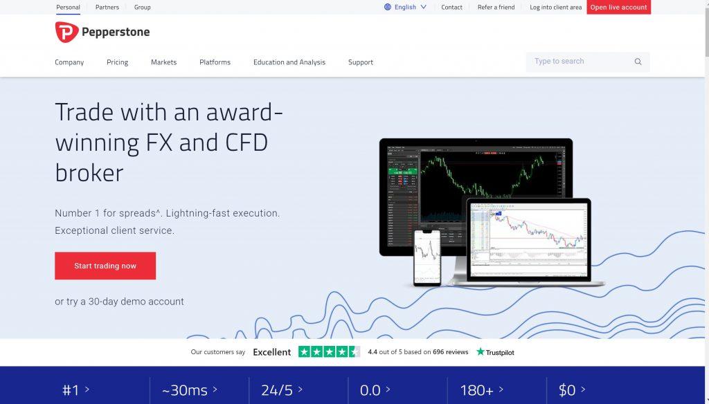 Pepperstone-Best Forex online trading platform