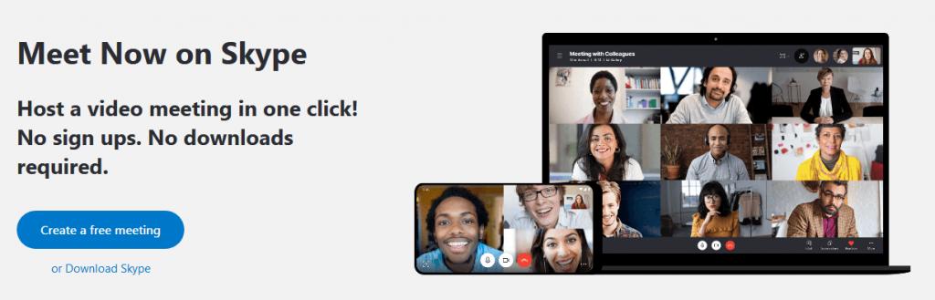 Skype- best discord alternatives