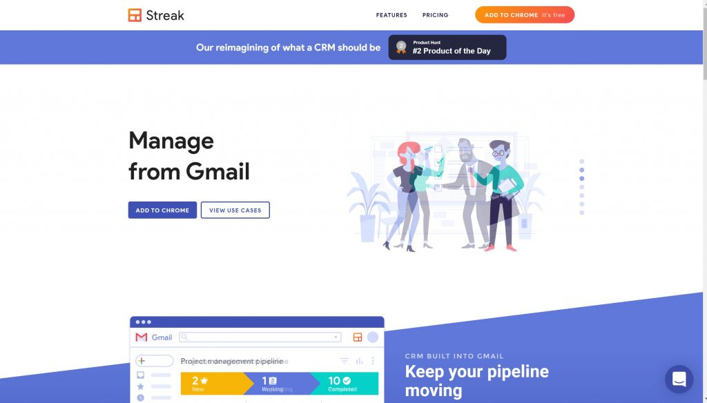 Stream CRM for Gmail- email trcaker apps