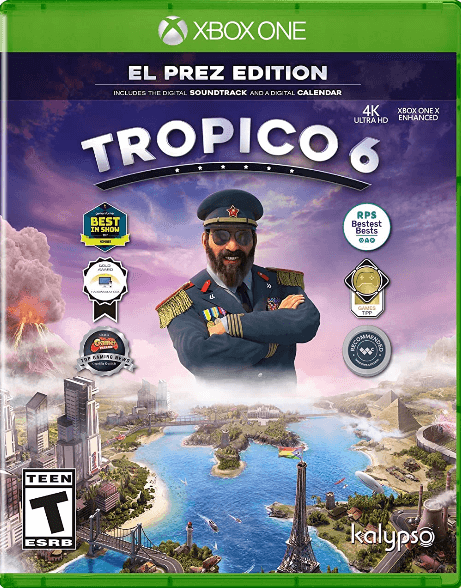Tropico 6 - Xbox One- One of the best Island Tycoon Games
