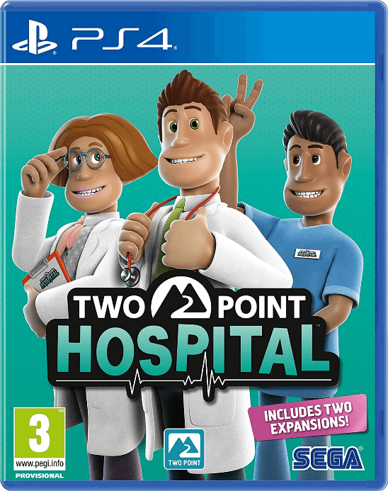 Two Point Hospital (PS4)- Our Pick for Hospital Best Tycoon Games