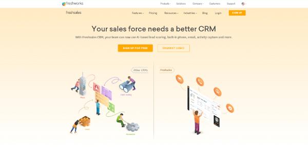 freshsales-alternatives to salesforce