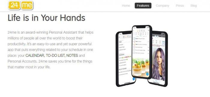24me-calendar apps