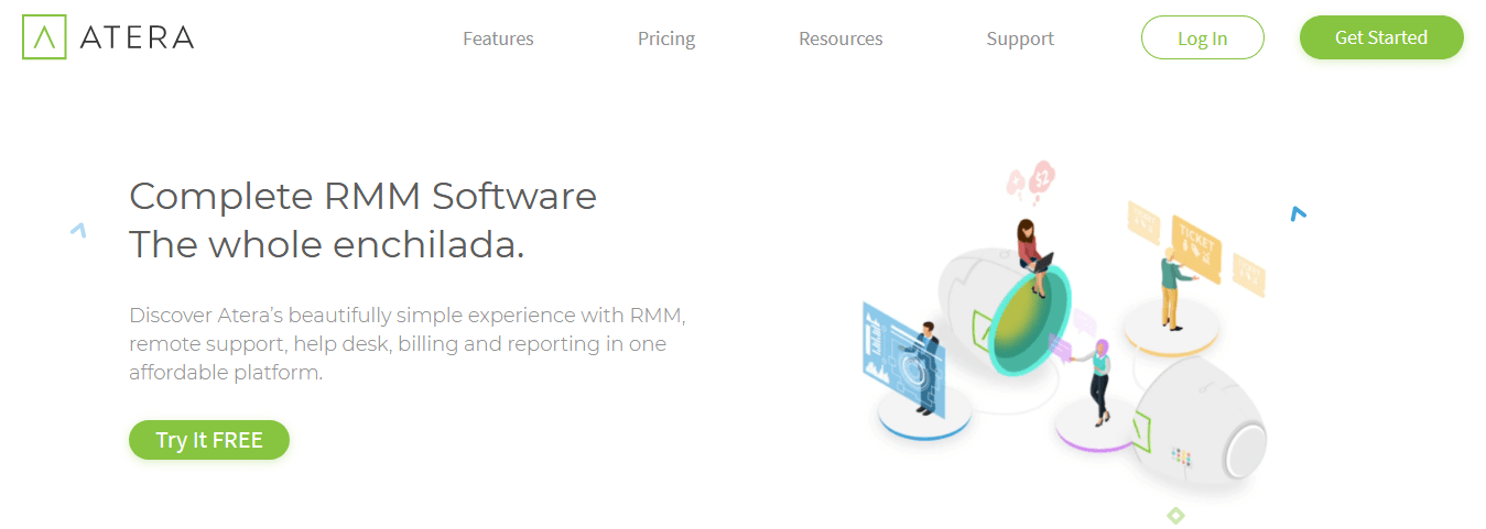 Atera- Best Help Desk Software for IT Support