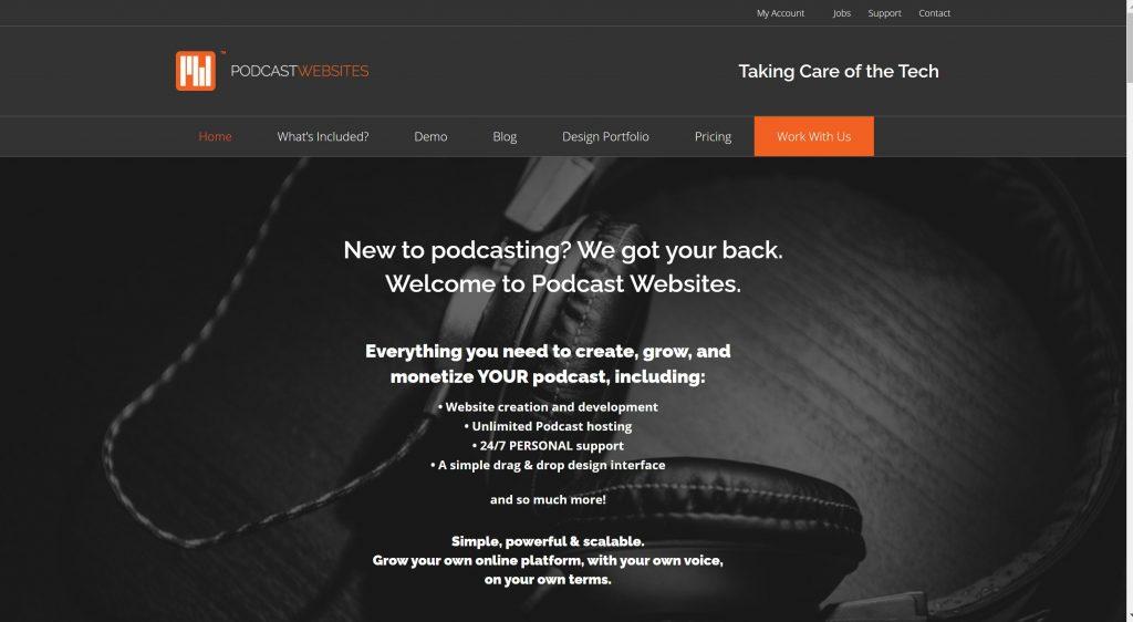 Best Podcast website hosting sites