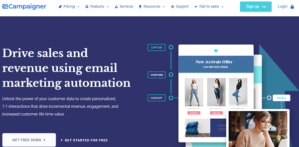 Campaigner-popular email marketing automation software