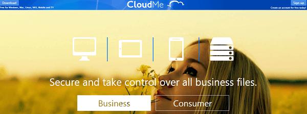 CloudMe-Dropbox alternative