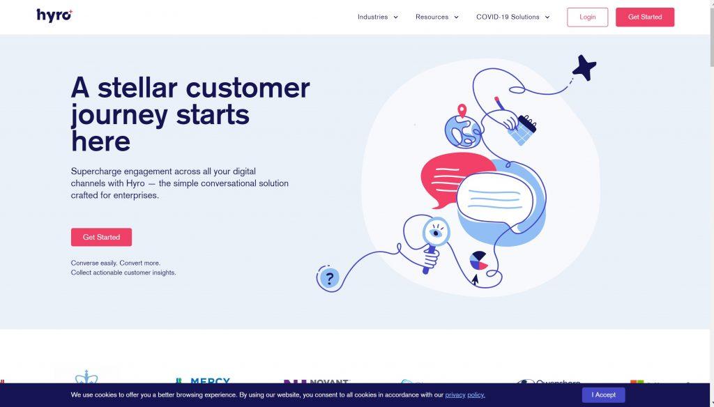 Conversational AI based tool- Hyro
