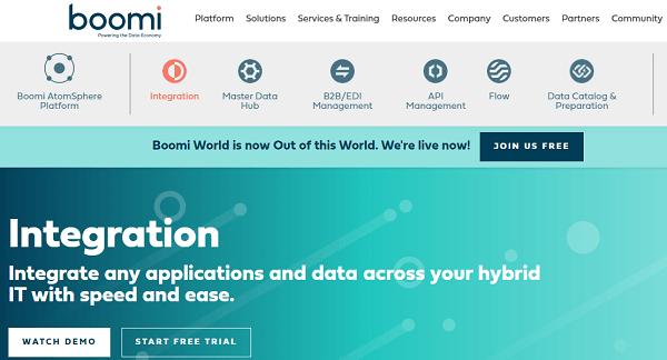 Dell Boomi Data Integration Software