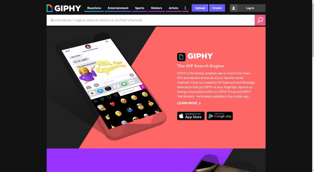Giphy AR App- Bets Augmented reality app