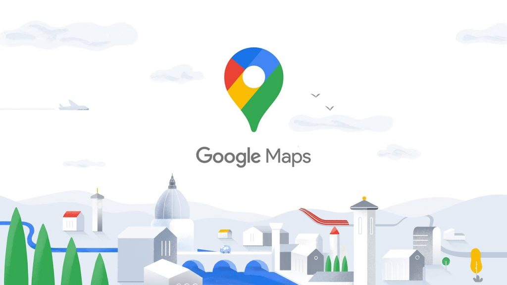 Google Maps- free augmented reality app