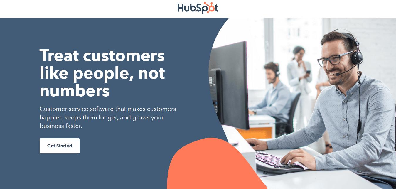 HubSpot Best Not so Complicated Help Desk Software