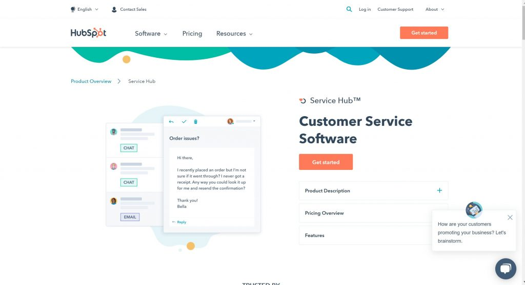 Hubspot customer experience software solutions