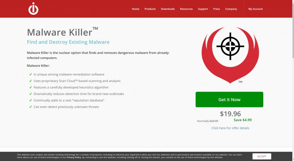 IoIo technology- free malware software for protection