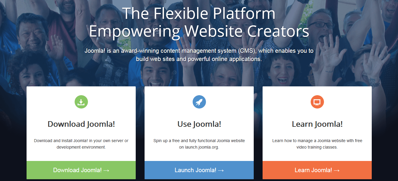 Joomla! — Content Management Software is known as WordPress Alternative