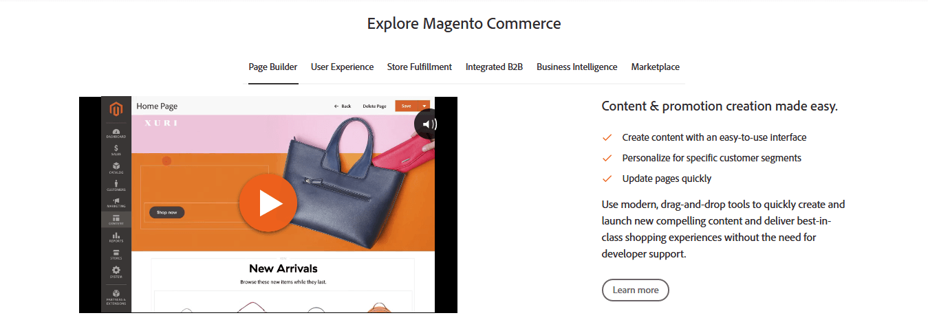 Magento — Best CMS For Advanced Ecommerce Websites