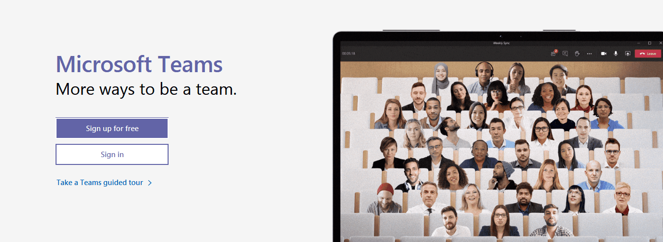 Microsoft Teams- One of the Best Business Oriented Video Conferencing Software