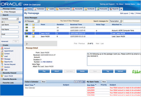 Oracle CRM- Best Companion to other Oracle Products