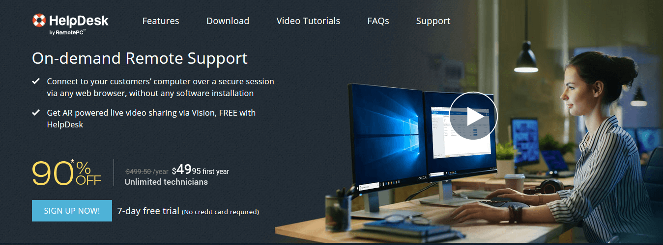 RemotePC- Ticketing System Software with Better Security