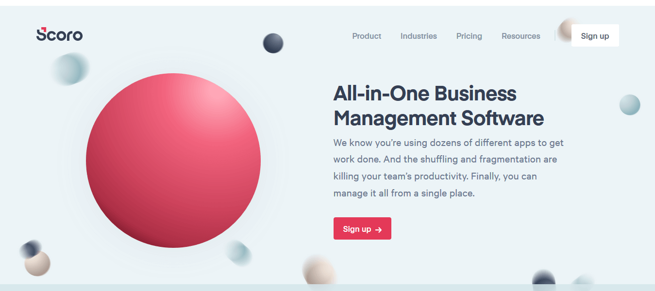 Scoro One of the Best Customer Engagement Software at an Affordable Price