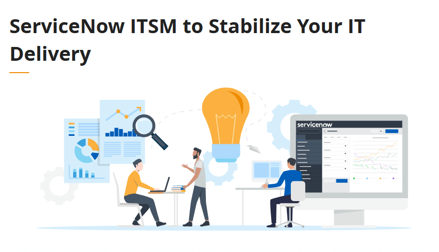 ServiceNow ITSM- Best Help Desk Software with Better Team Support