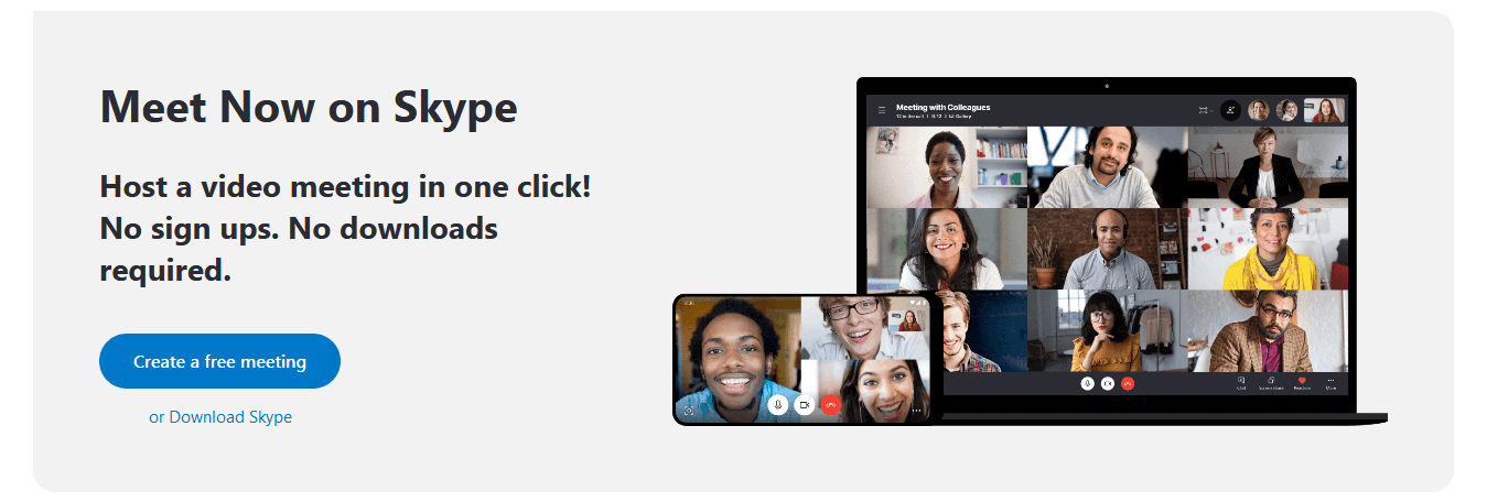 Skype- Best Video Conferencing Software for Personal Use