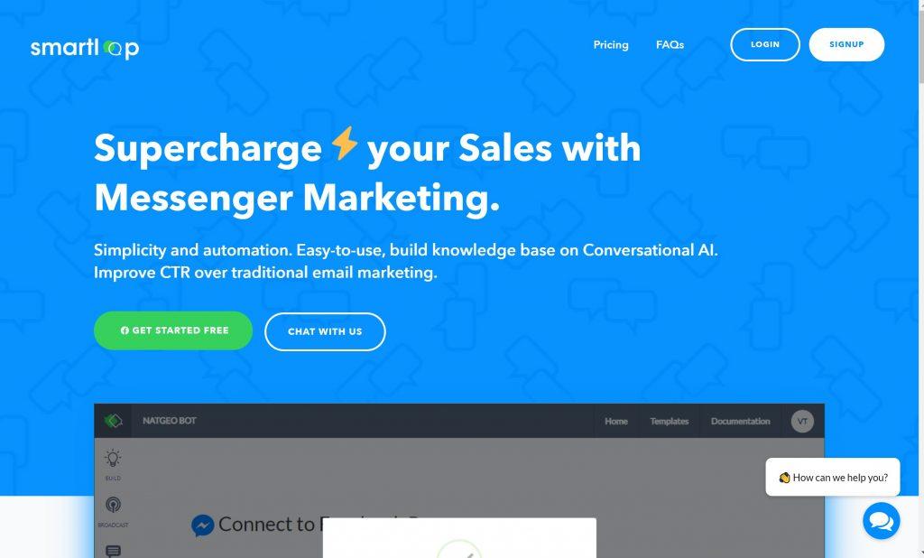 Smartloop- Best AI chatbot software