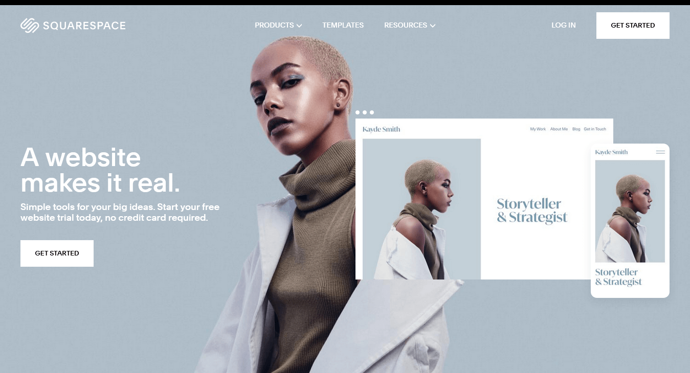 Squarespace — Best CMS For Create Beautiful Visuals