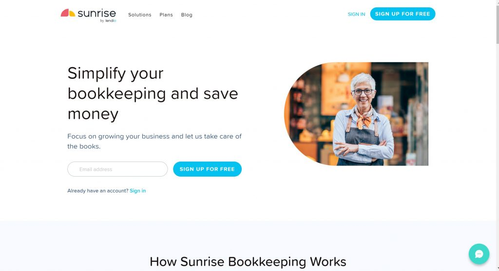Sunrise quickbook alternative