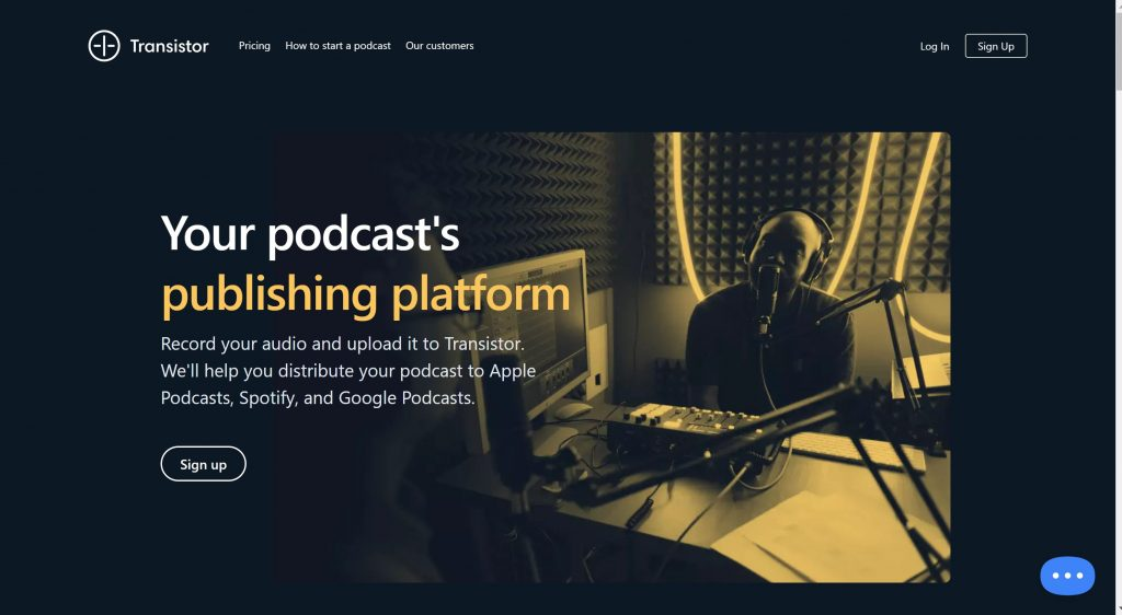 Transistor podcast-best podcast hosting