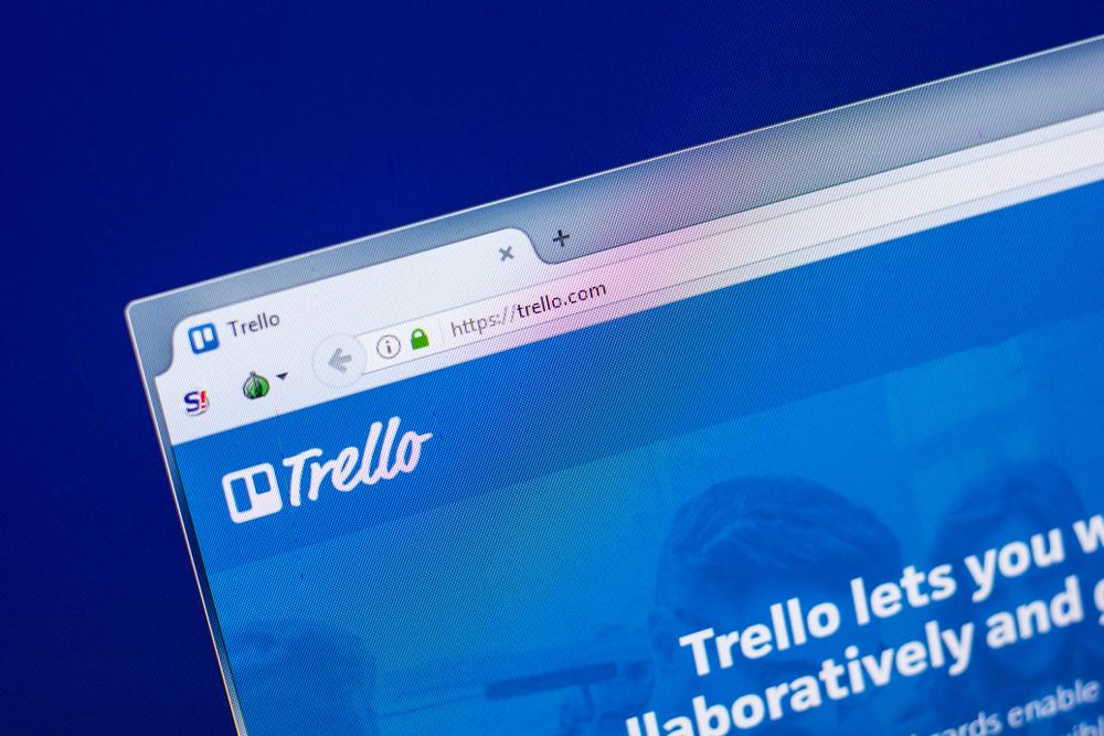 Trello -Business management software