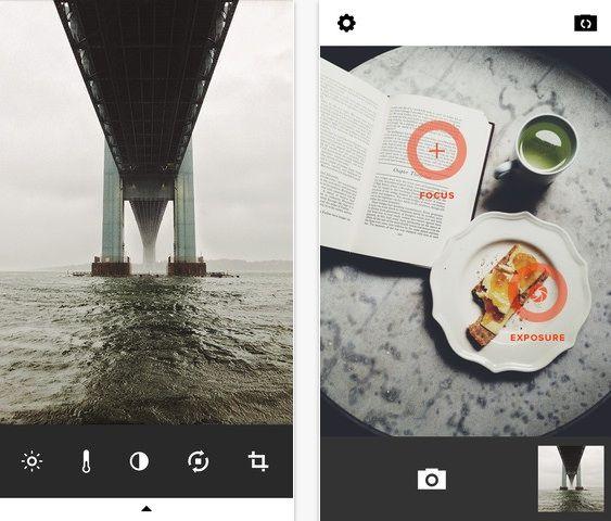 VSCO Cam app for instagram
