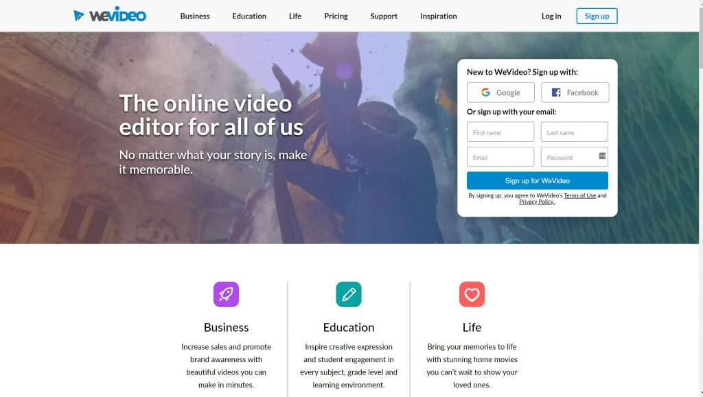 WeVideo- Instagram apps for video editing