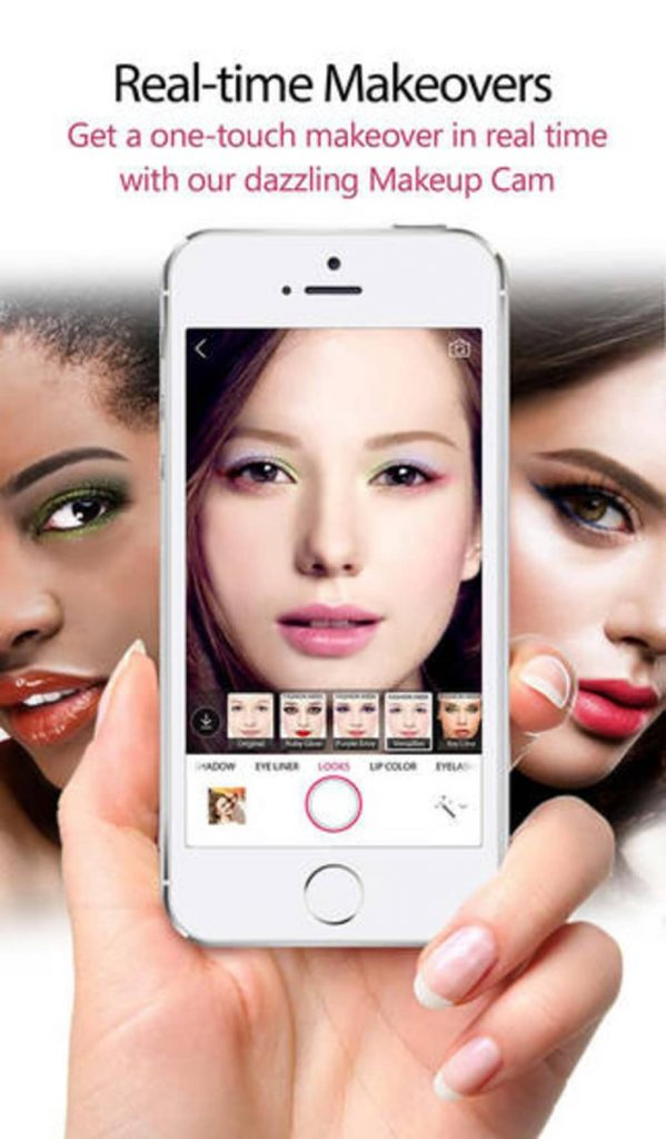 YouCamMakeup- Augmented reality apps for iOS