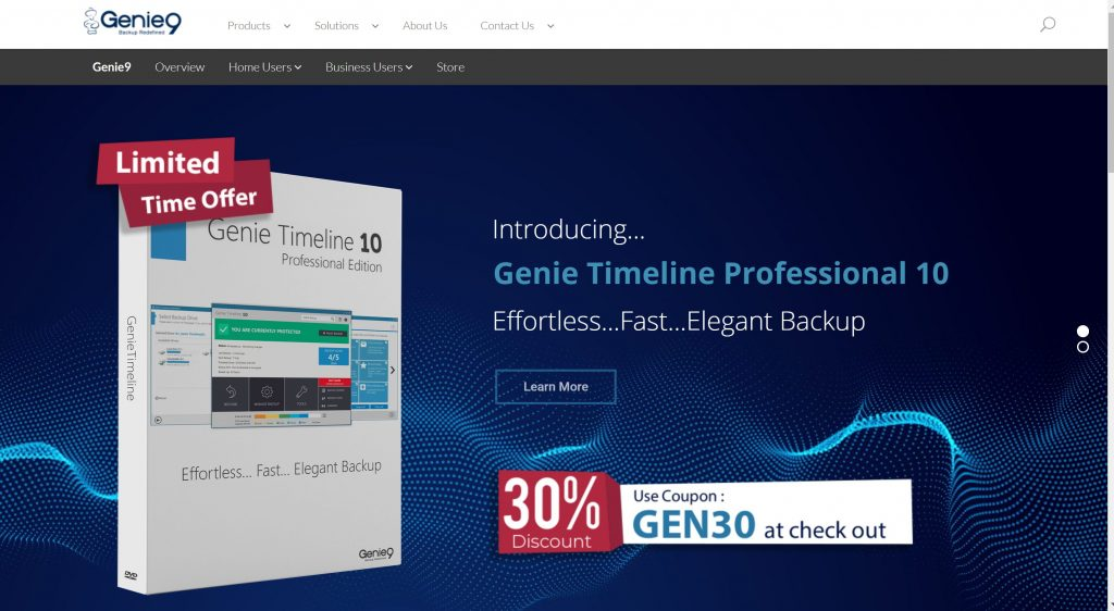 free data backup software- Genie9 backup software
