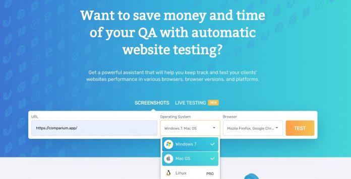 Comparium: Reliable Cross-Browser Testing Tool