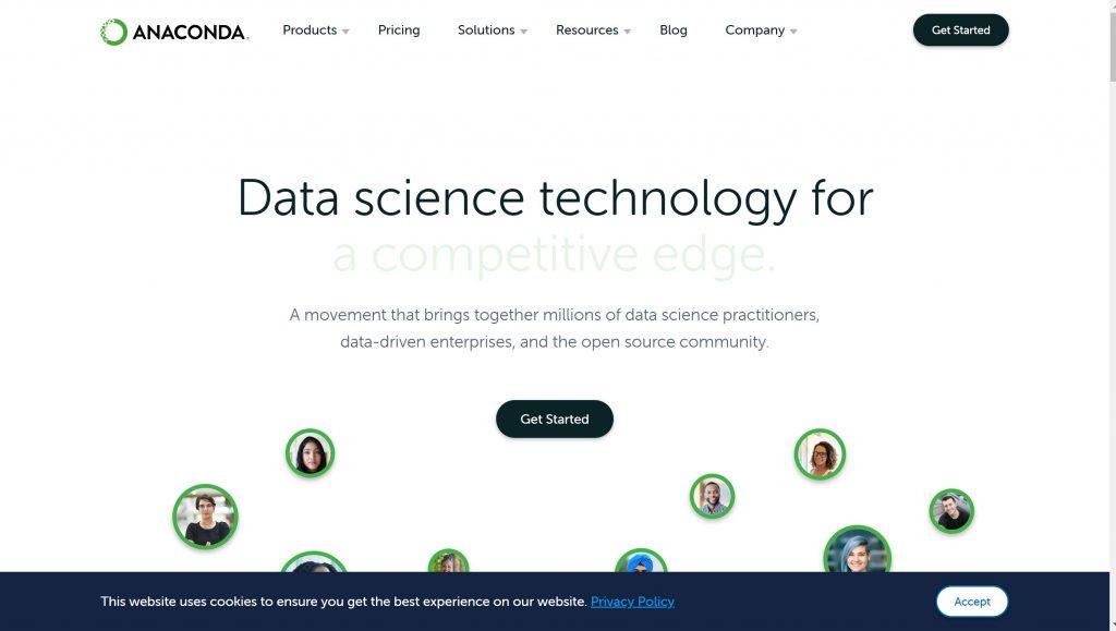 Best adata analytics software- Anaconda
