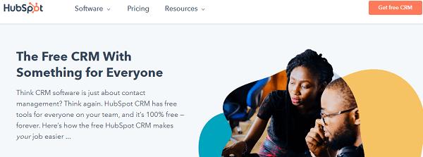 HubSpot-CRM - business management software