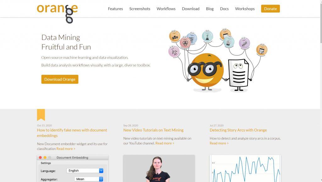 Predictive softwrae solutions- orange data mining